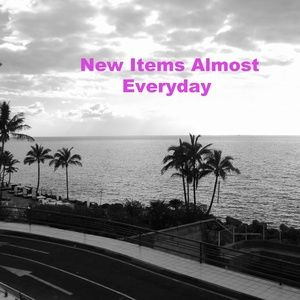 New Items Listed Here